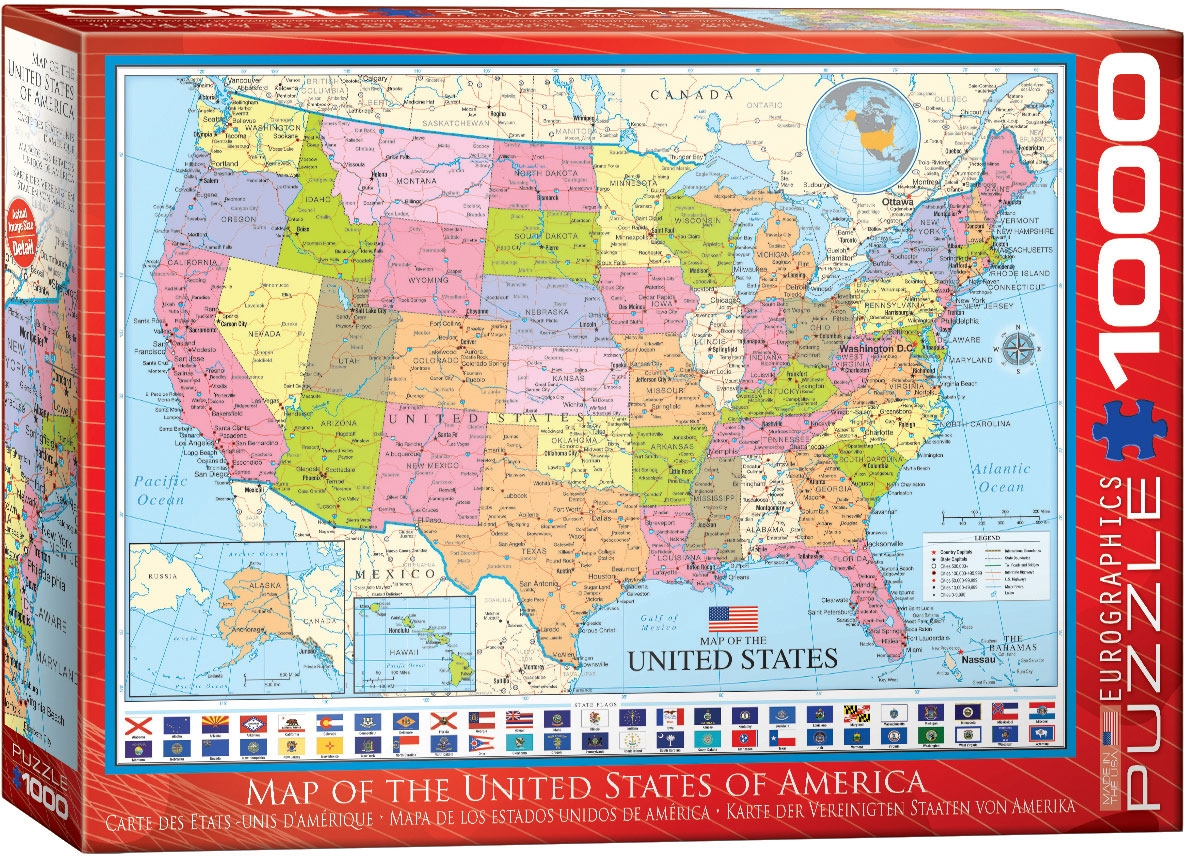 Map of the United States - Puzzle