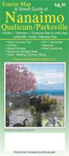 Nanaimo, Qualicum Beach & Parksville BC Road Map. This map includes information on Nanaimo, Parksville, Qualicum Beach, Hornby Island, Denman Island, Lantzville, Cedar, Yellow Point, Ladysmith, French Creek, Nanoose Bay and all points in between. You will