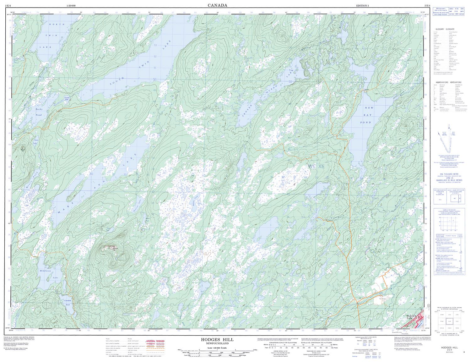 Hill Topographic Map.002e04 Hodges Hill Topographic Map