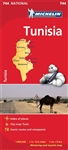 744 Tunisia Michelin Map