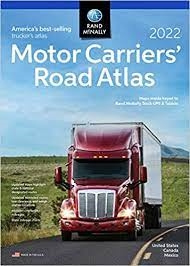 Motor Carriers 2019 Road Atlas Rand Mcnally Every Mile In Every