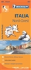 NW Italy Travel & Road Map. Includes Milan, Genoa and Turin. MICHELIN Italy Northwest Regional Map scale 1:400,000 will provide you with an extensive coverage of primary, secondary and scenic routes for this region. In addition to Michelin's clear and acc