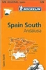 578 Spain South - Andalucia travel map. MICHELIN Andalucia Regional scale 1:400,000 will provide you with an extensive coverage of primary, secondary and scenic routes for this Spanish region. In addition to Michelin's clear and accurate mapping, this reg