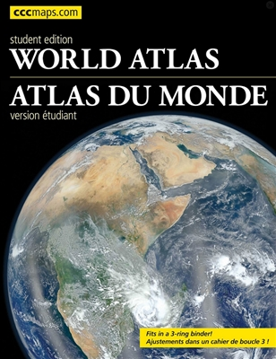 CCCMaps World Atlas Student Edition