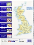 Great Britain & Northern Ireland Road Atlas. AZ Super Scale Atlas is perfect for getting around Great Britain, at a very good scale that shows even the smallest of villages. Includes journey route planning maps, detailed main route maps, city and town cen