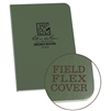 Waterproof Memo Book Green. Field-Flex is our most flexible cover material. The paper-based stock is tough enough to withstand the harshest and wettest conditions yet can be torn like heavy paper. As it is paper based, it can be recycled with other papers