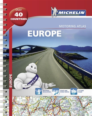 Europe - Tourist and Motoring Atlas. Includes coverage of all the major European countries and lesser known places such as Andorra (please use Spain or France atlas for more detail for Andorra), Iceland, Liechtenstein, Macedonia, Cyprus, Malta and Monaco.