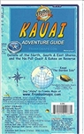 Kauai Hawaii - Travel & Guide Map. This waterproof guide map includes detailed information including snorkeling, horseback riding, parks, coastal cruises, and birding. The reverse of this map includes detailed insets of the North Shore, East Shore, Na Pal