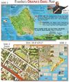 Oahu Hawaii Map - The Early Years of President Obama. Franko Maps is proud to present a very special map of Oahu dedicated to Barack Obama, the 44th President of the United States, and to the visitors who come to Hawaii with an interest in knowing more ab
