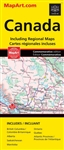 Canada Travel & Road Map. This Canada map is a must-have for anyone traveling in Canada. A great map for travelling in Canada. Folded maps have been the trusted standard for years, offering unbeatable accuracy and reliability at a great price. Detailed in