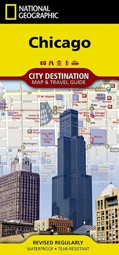Chicago Illinois Usa Destination City Map Travel Guide Want To