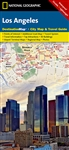 Los Angeles National Geographic Destination City Map