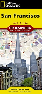 San Francisco National Geographic Destination City Map. In addition to the easy-to-read map on the front, the back includes: - Regional map - Points of interest - Airport diagrams for San Francisco International and Oakland International airports - Inset
