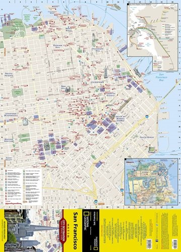 San Francisco National Geographic Destination City Map. In addition on