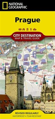 Prague National Geographic Destination City Map. In addition to the easy-to-read map on the front, the back of the map includes a regional map, points of interest, airport diagram, metro map, information on transportation, museums and more. Also includes