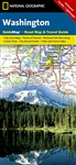 Washington National Geographic State Guide Map