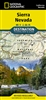 Sierra Nevada National Geographic Destination Map
