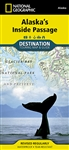 Alaska Inside Passage National Geographic Destination Map. Explore the exhilarating majesty and mystique of Southeast Alaska with National Geographic's Alaska's Inside Passage Destination Map. The Inside Passage is a meandering waterway formed by a myriad