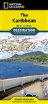 Caribbean National Geographic Destination Map