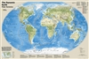 Plate Tectonics World Map - National Geographic. The Dynamic Earth wall map illustrates plate tectonics and features new bathymetry and naturally colored relief, as well as volcano and  earthquake data through 2011. Like pieces of a giant jigsaw puzzle, t