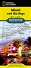 Miami and the Keys National Geographic Destination Map