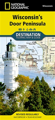 Wisconsin's Door Peninsula National Geographic Destination Map