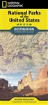 National Parks of the USA tour map and guide