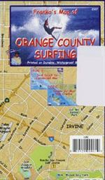 Franko Map of Orange County Surfing
