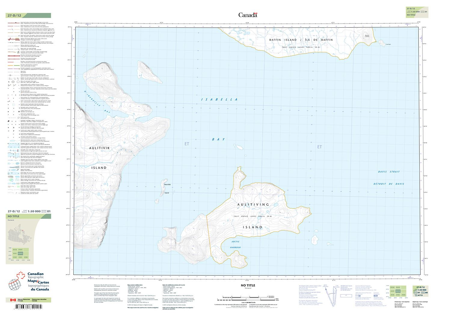 027d12 Aulitiving Island Topographic Map