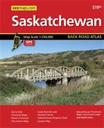 Saskatchewan Back Road Atlas. Includes Events Listings, GPS compatible, Up to date, Provincial Maps, Points of Interest, Golf Courses, Guest Ranches and Vacation Farms, Saskatchewan Distance Chart, Locator Map, Saskatchewan Provincial Maps Community Index