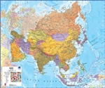 Asia Maps International Wall Map