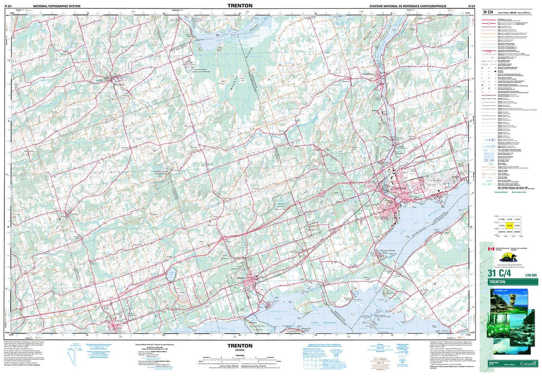 TRENTON Topographic Map