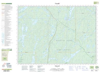 031L13 - INGALL LAKE - Topographic Map