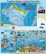 Turks and Caicos Fish Card