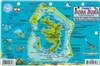 "Bora Bora French Polynesia Fish ID Card. These fish cards are produced on stiff laminated plastic with a hole for a lanyard. Take it snorkeling or scuba diving with you! Size of Fish Cards are 6"" x 9""."