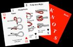 Knots - Playing Cards. Learn to tie knots while playing your favorite card games. Each card will show you how to tie a different knot.