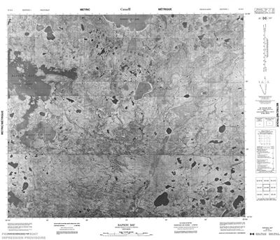 053K08 - RAPSON BAY - Topographic Map