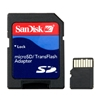 Garmin MicroSD / SD card with Adapter. Do not let space constraints keep you from your next great adventure. Expand your storage capacity with our 4 GB Class 4 micro SD card. The 4 GB micro SD card arrives already inserted in the adapter, which can be rem