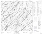 074H02 - NELSON LAKE - Topographic Map