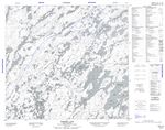 074H04 - ZIMMER LAKE - Topographic Map