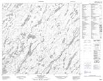 074H07 - HODGES LAKE - Topographic Map
