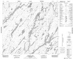 074H08 - BECKETT LAKE - Topographic Map