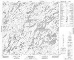 074H10 - KEEFE LAKE - Topographic Map