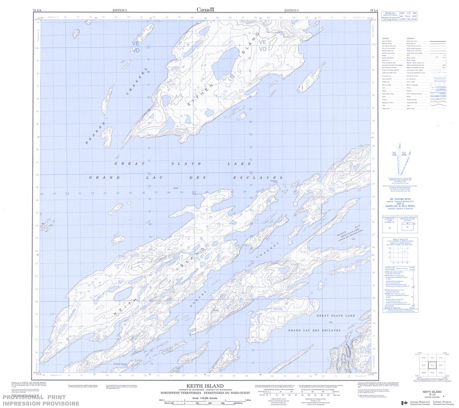 075l04 Keith Island Topographic Map