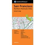 San Francisco Northern Peninsula Cities Rand McNally