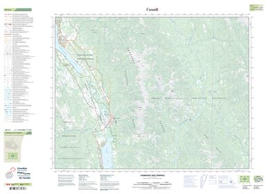 082J05 - FAIRMONT HOT SPRINGS - Topographic Map