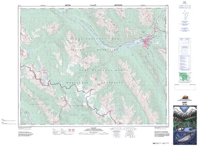 082O04 - BANFF - Topographic Map