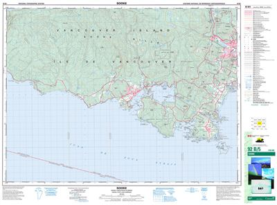 092B05 - SOOKE - Topographic Map