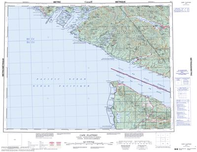 092C - CAPE FLATTERY - Topographic Map