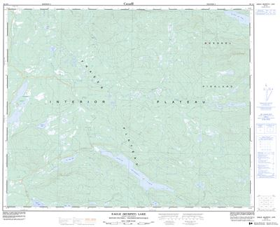 093A03 - EAGLE (MURPHY) LAKE - Topographic Map